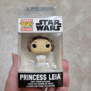 2/$10 Leia Pocket POP Keychain Star Wars Vinyl
